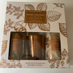 WILLIAMS SONOMA Guest ESSENTIALS SPICED CHESTNUT